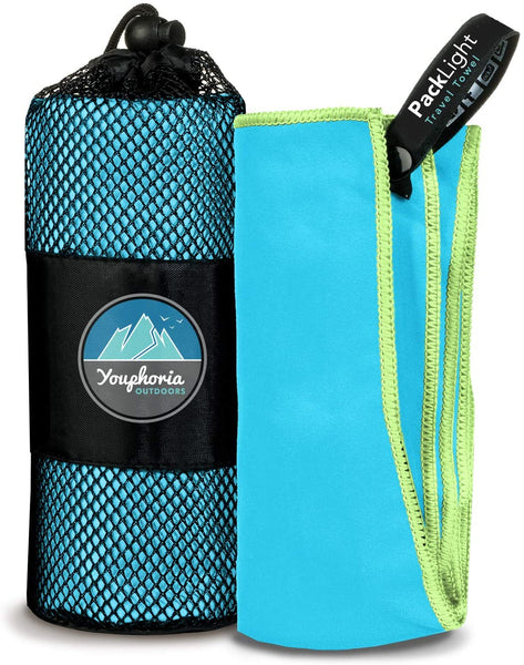 BACKFY Gym & Outdoor Microfiber Towel Fast Drying Lightweight Travel