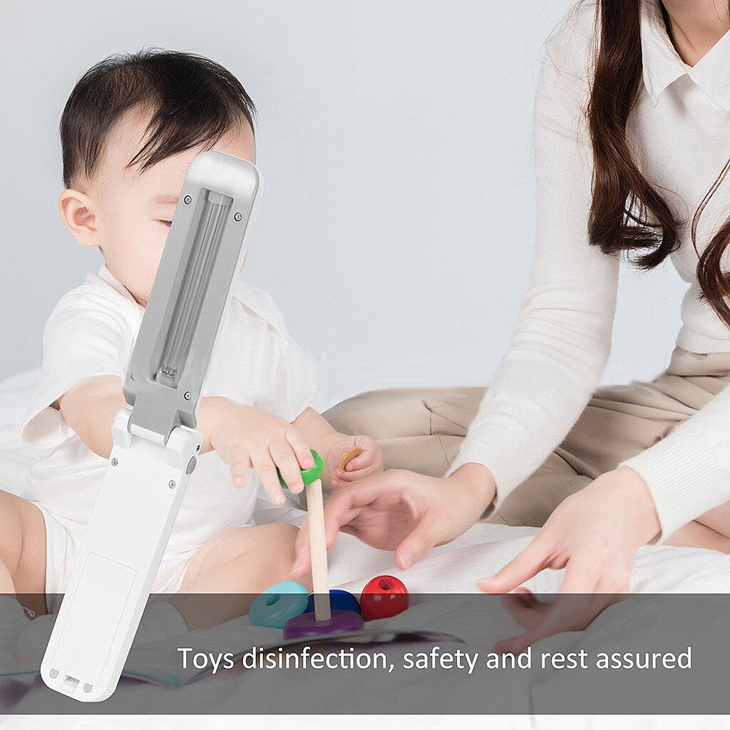 DEEPCLEANING™ UV Light Sanitizer Portable & Folding Handheld Disinfection Lamp