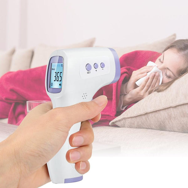 FamSEC - Touchless Infrared Thermometer for Adults and Kids Accurate Fast Readings