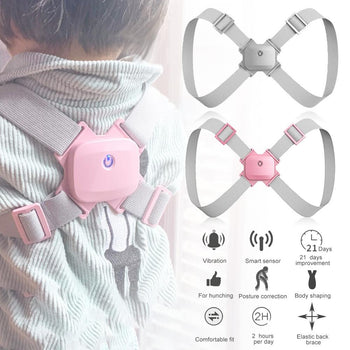 PostureZone Electronic Posture Corrector Vibration Reminder Back Support