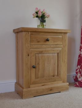 Wessex Oak 1 Door Cupboard