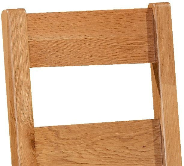 Somerset Oak Ladder Back Dining Chair