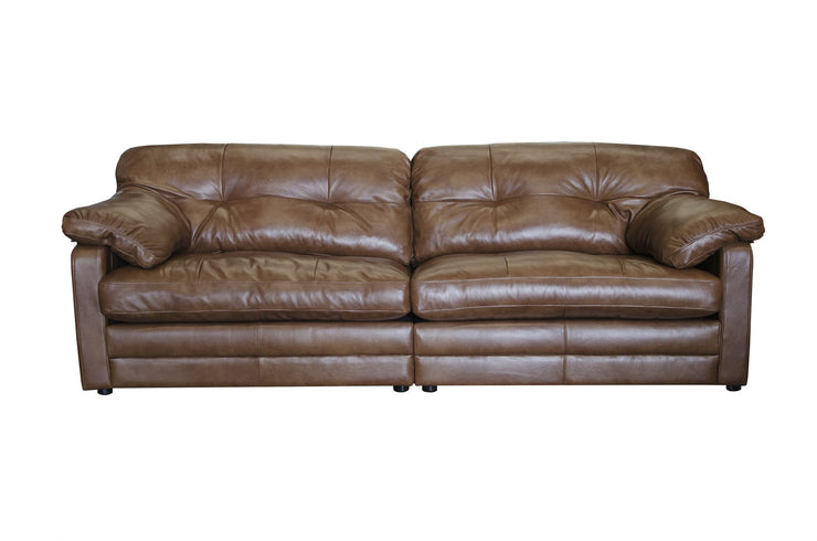 Bailey 4 Seater Sofa - Indiana Tan Leather