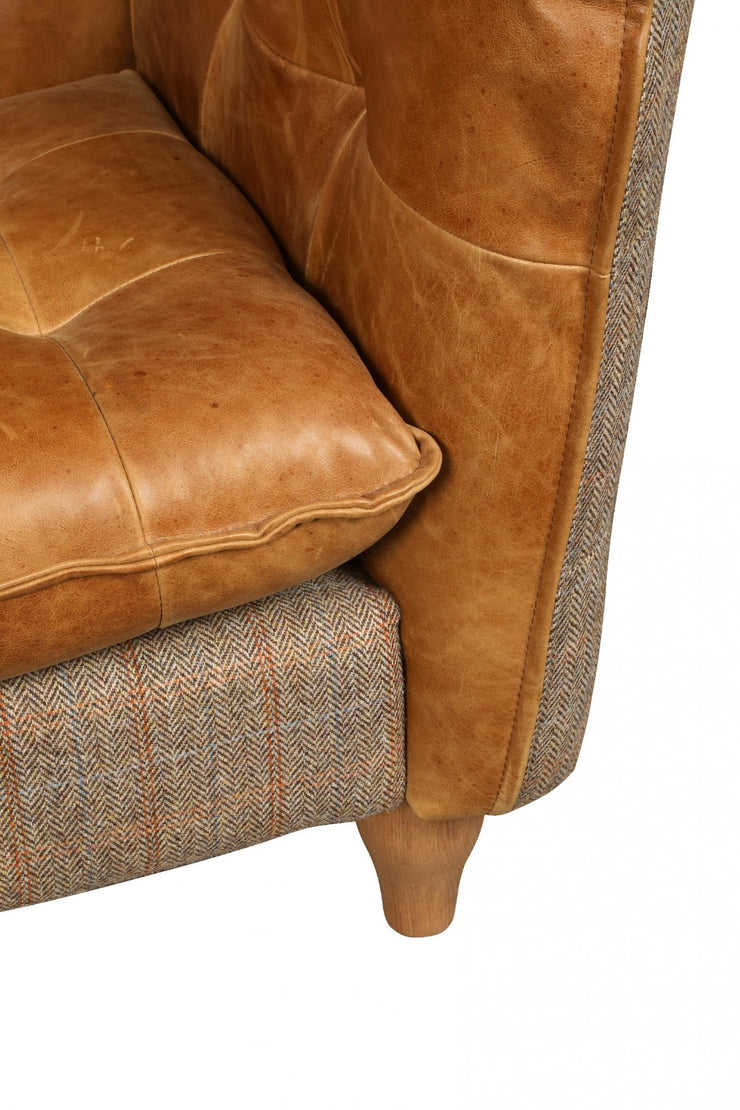 Brunswick 2 Seat Sofa - Hunting Lodge Harris Tweed
