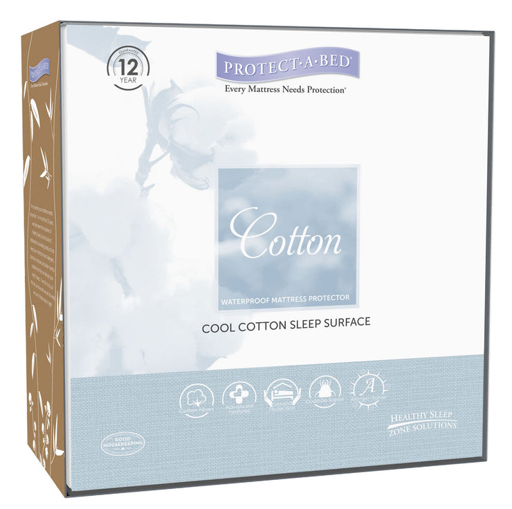 Cotton 'Naturals' Mattress Protector