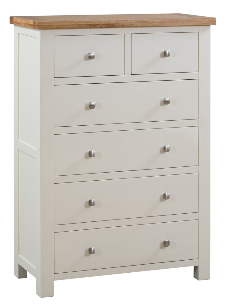 Dorset Ivory Painted 2+4 Chest Of Drawers