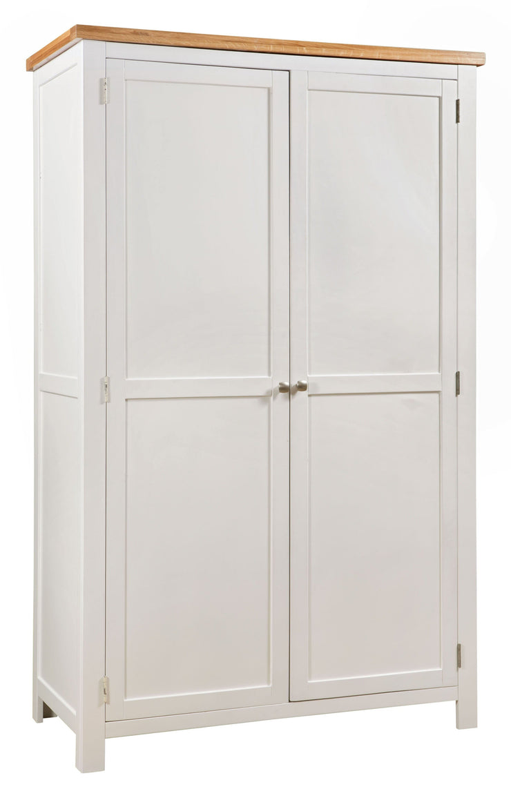 Dorset Ivory Painted All Hanging Double Wardrobe
