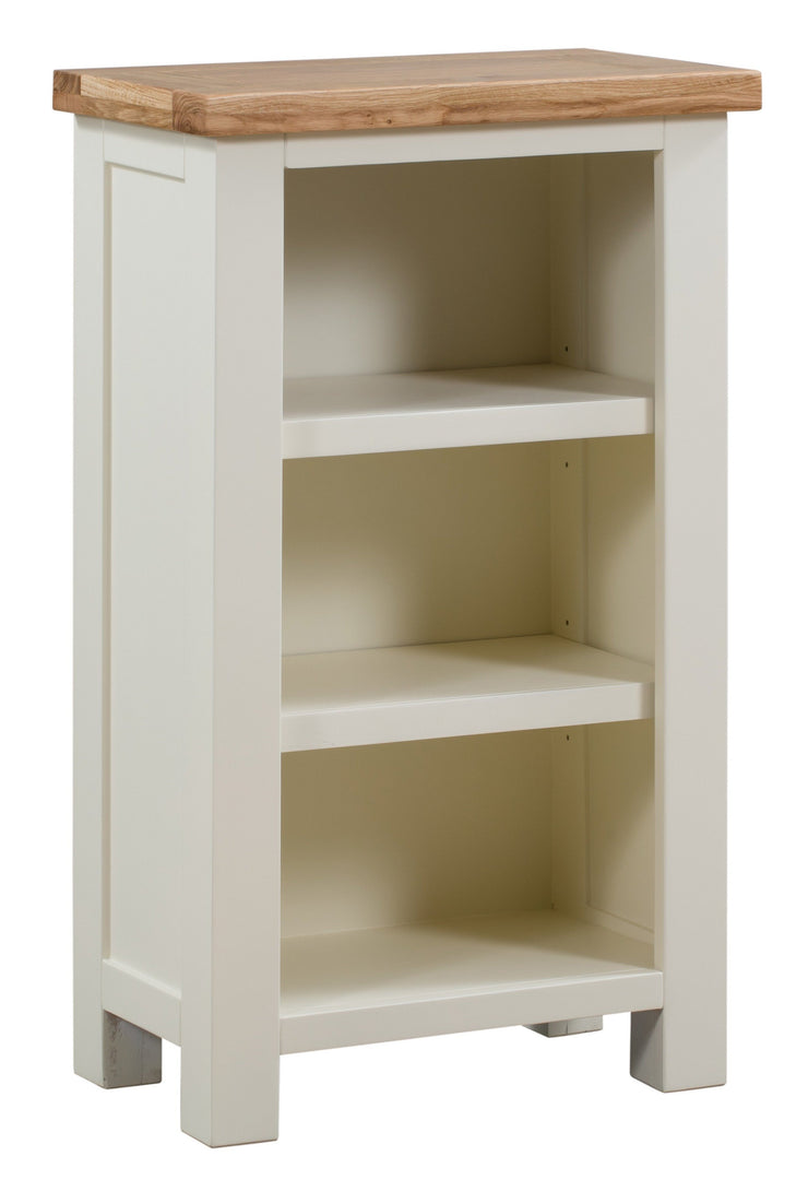 Dorset Ivory Painted Small Bookcase