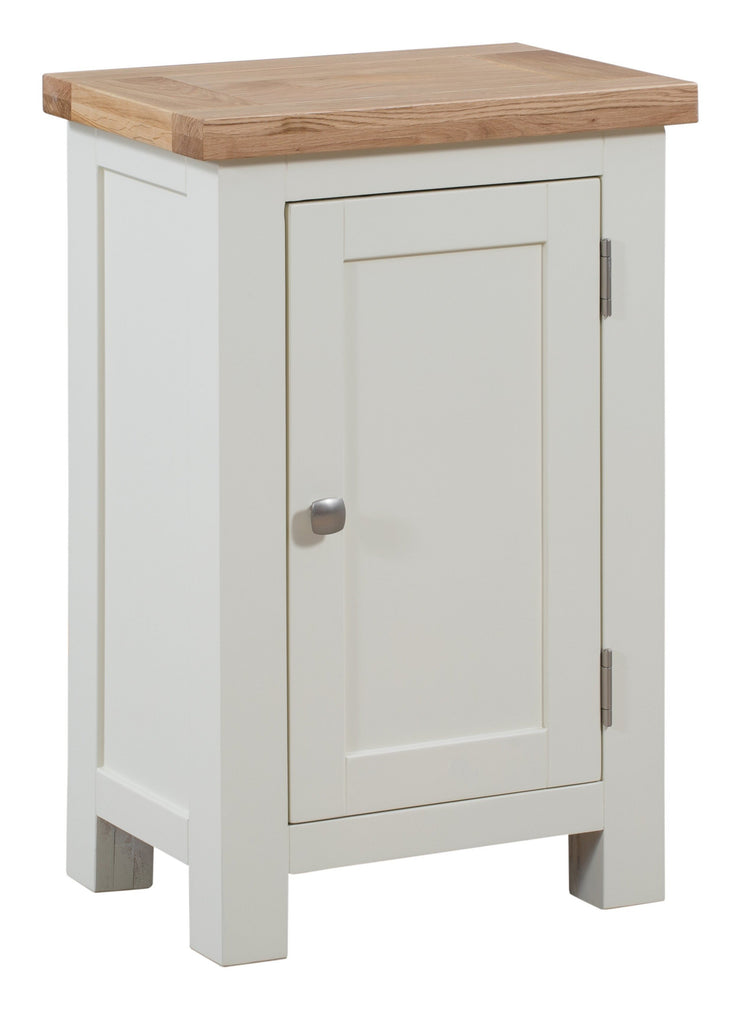 Dorset Ivory Painted 1 Door Cabinet