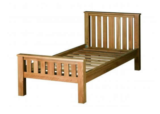 Dinton Oak Bed Frame (Various Sizes)