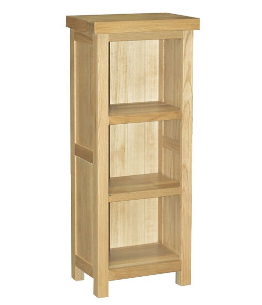 Dinton Oak Medium Narrow Bookcase