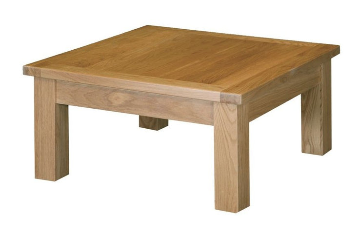 Dinton Oak Square Coffee Table (Various Sizes)