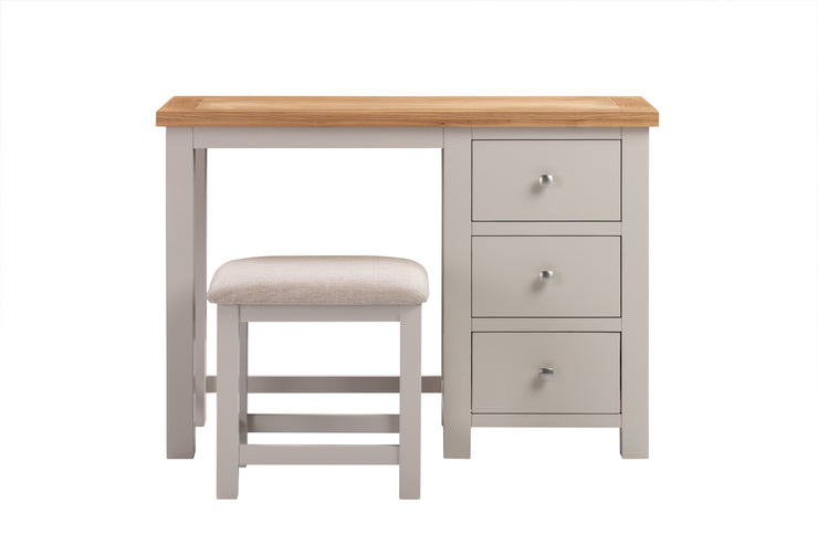 Dorset Putty Painted Dressing Table & Stool