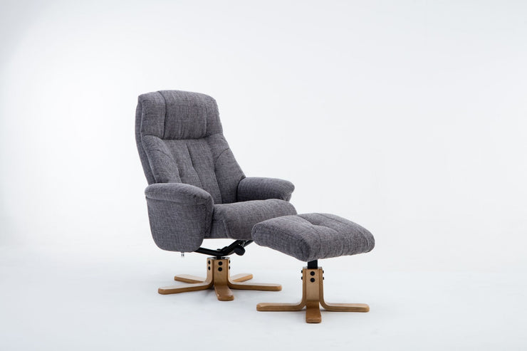 Dubai Recliner with Footstool