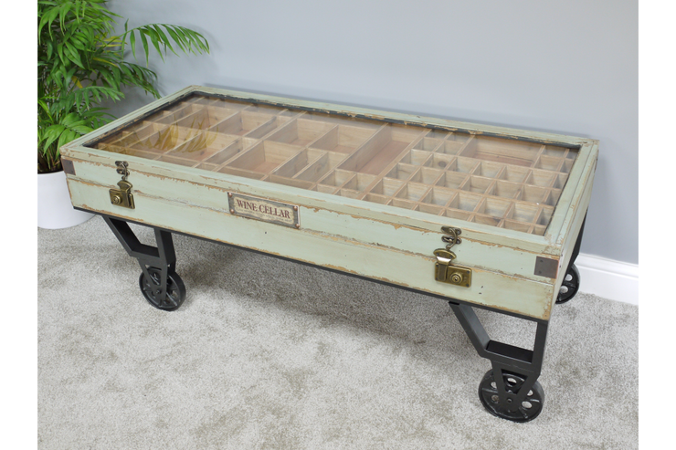 Collectors 'Wine Seller' Coffee Table