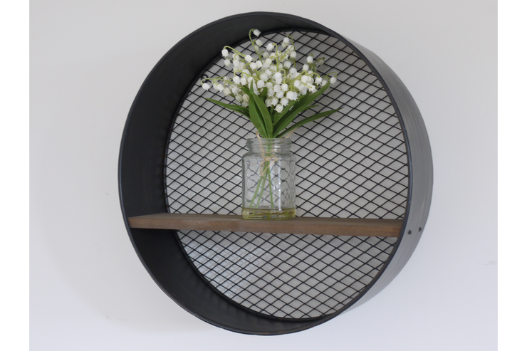 Industrial Round Shelf