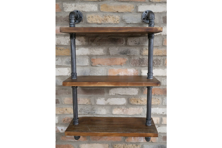 Pipe Wall Mounted Shelves