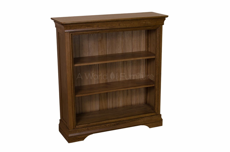 French Oak Low Bookcase