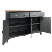 Riva Grey 3 Door Sideboard
