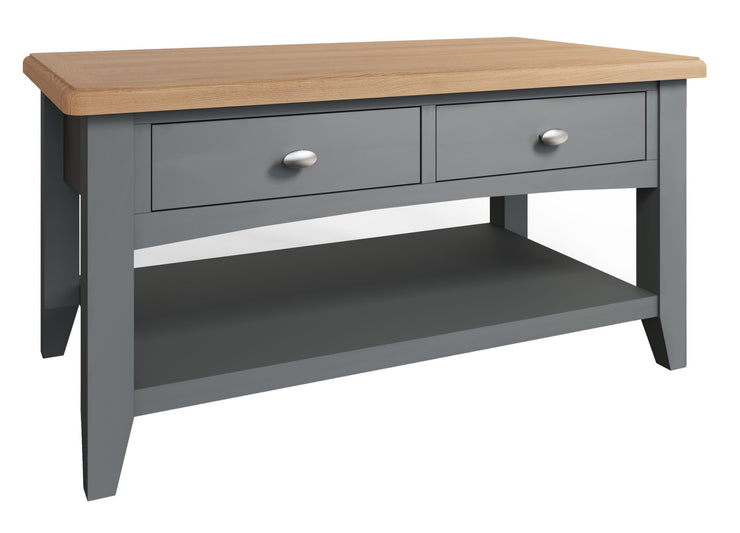 Riva Grey Large Coffee Table