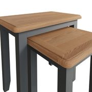 Riva Grey Nest Of 2 Tables