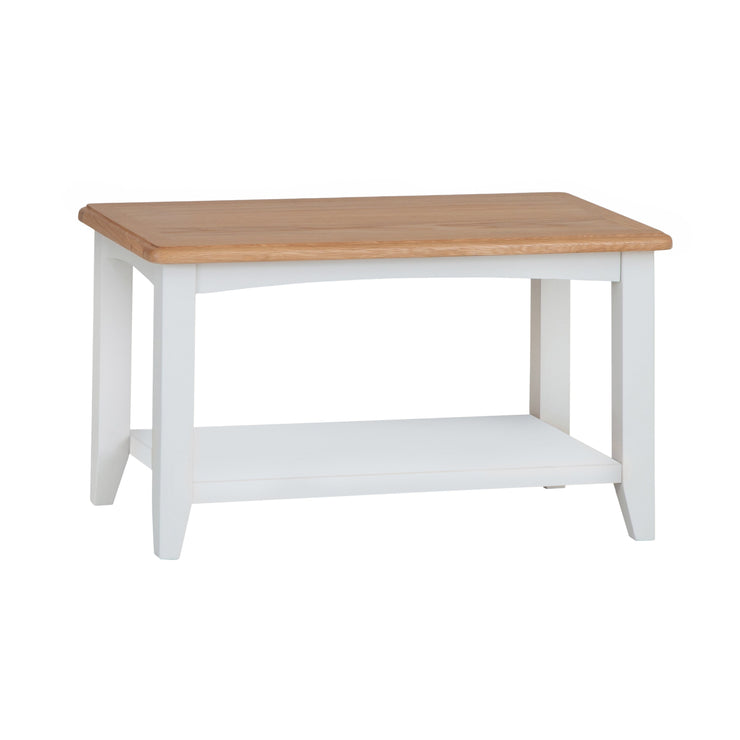 Riva White Small Coffee Table