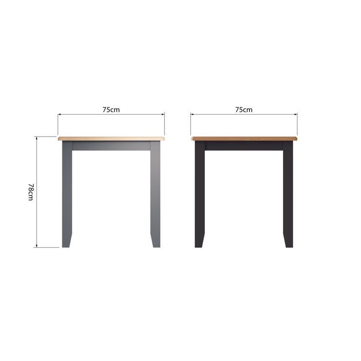Riva Grey Fixed Top Table