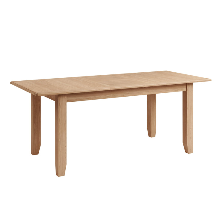 Riva Oak 1.6m Butterfly Extending Table