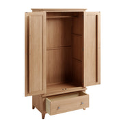Riva Oak Gents Wardobe