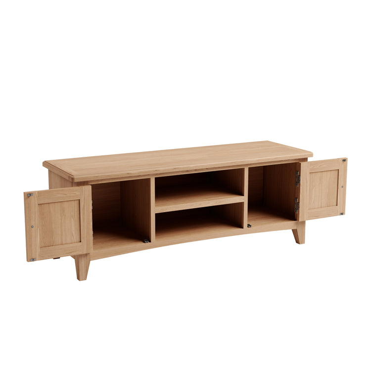 Riva Oak Large TV Unit