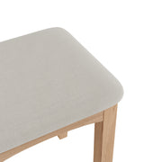 Riva Oak Dressing Stool