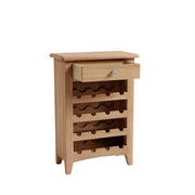 Riva Oak Wine Cabinet