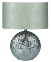 Hammered Ceramic Table Lamp (Various Colours)