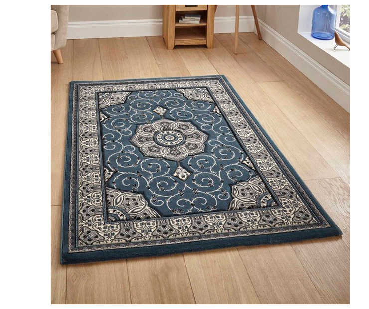 Heritage Rug - Dark Blue (Various Sizes)