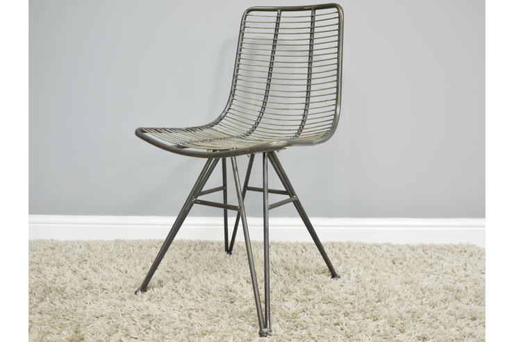 Industrial Metal Chair