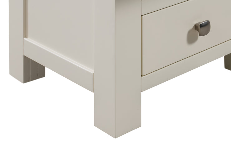 Dorset Ivory Painted 5 Drawer Wellington Chest Of Drawers
