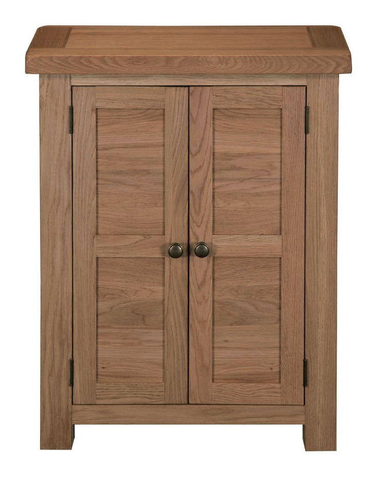 Manhattan Oak Shoe Cupboard
