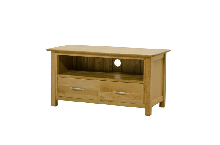 Newland Oak 2 Drawer TV Cabinet