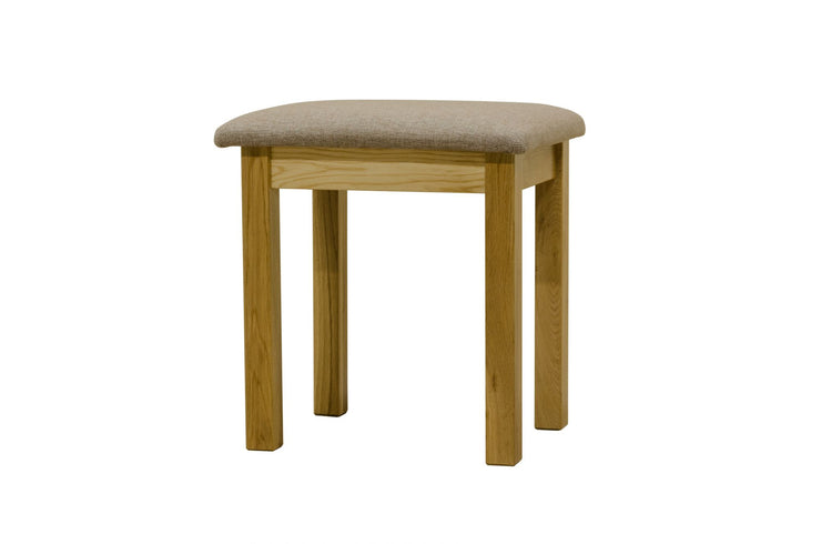 Newland Oak Dressing Table Stool