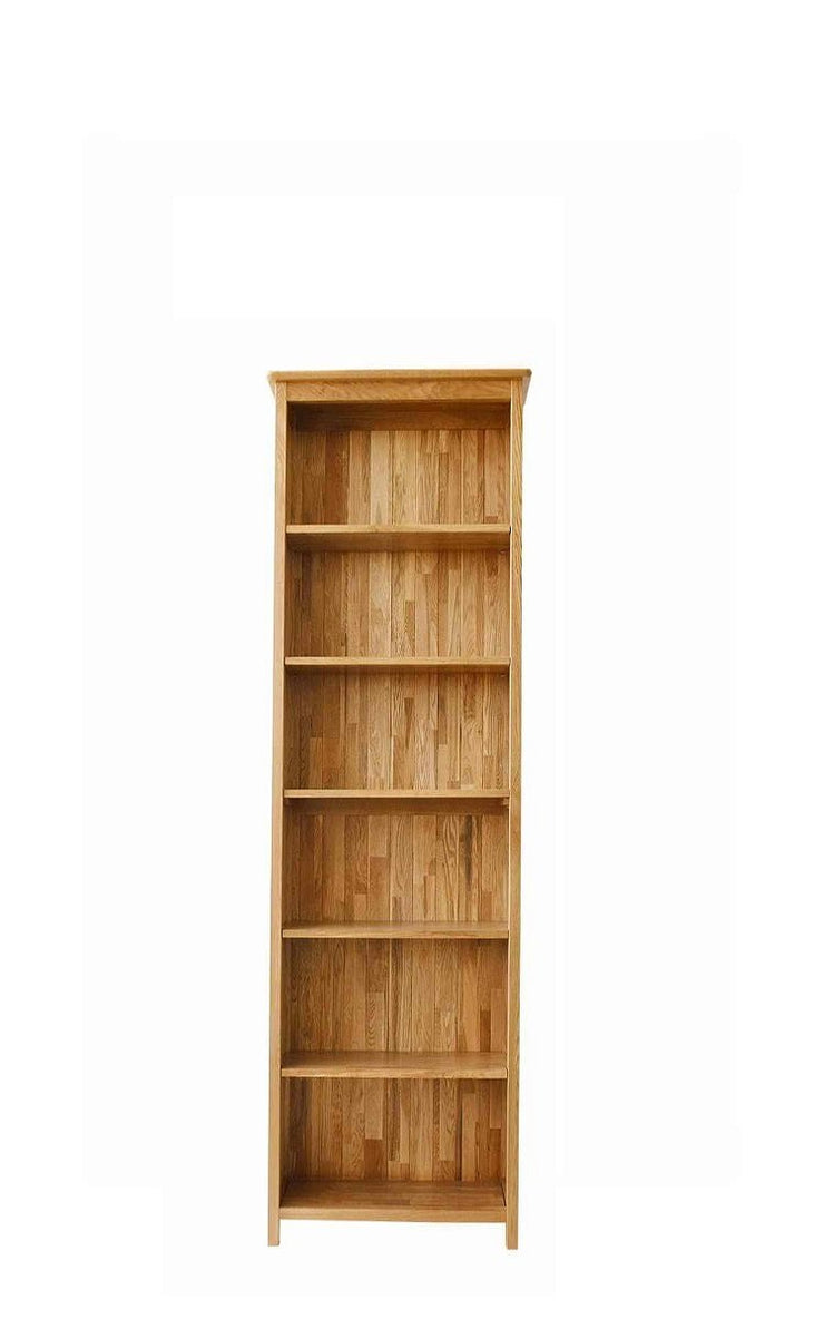 Newland Oak Tall Narrow Bookcase