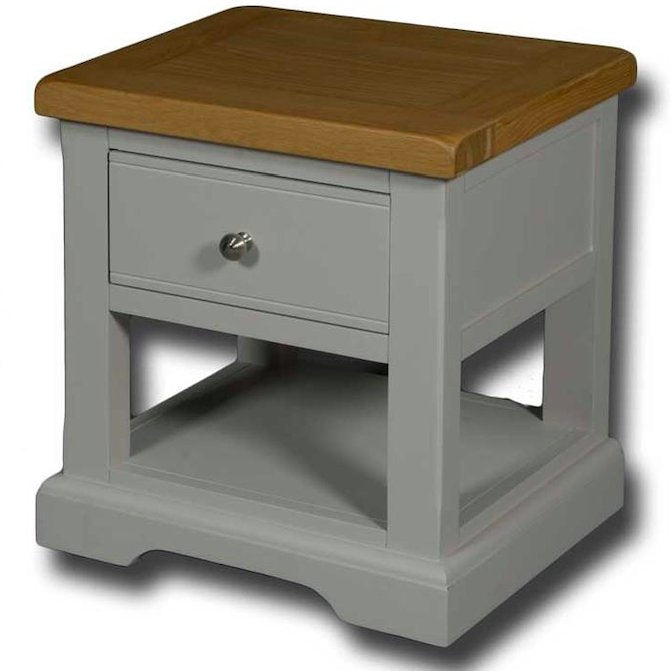 Portland Painted 1 Drawer Bedside Table