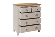 Stratford Painted 2 Over 3 Chest of Drawers