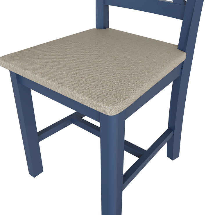 Stratford Blue Painted Dining Chair