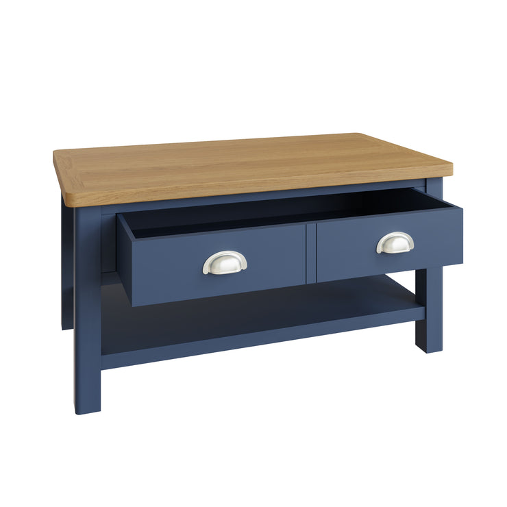 Stratford Blue Painted Large Coffee Table