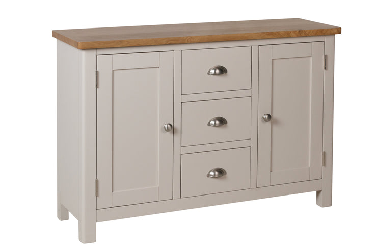 Stratford Truffle Dove Grey Painted Large Sideboard