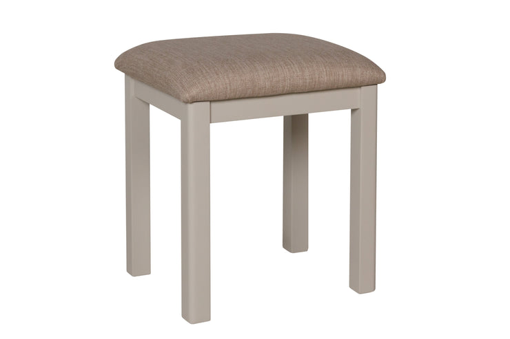 Stratford Truffle Dove Grey Painted Dressing Stool