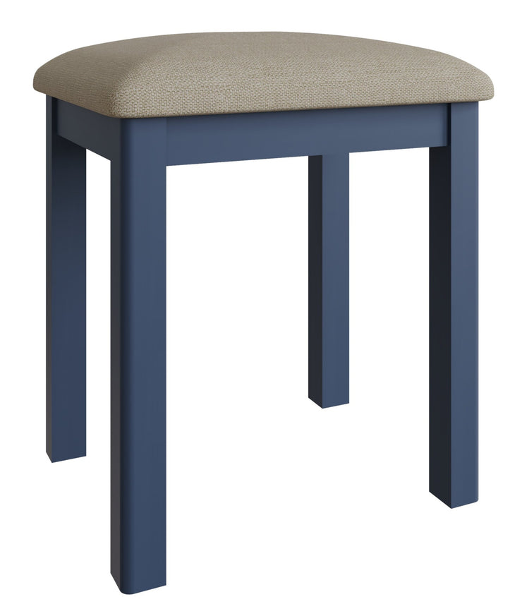 Stratford Blue Painted Dressing Stool