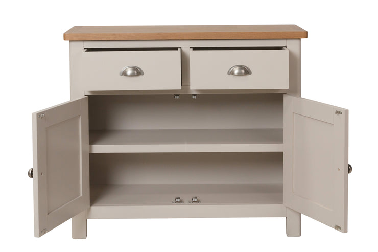 Stratford Truffle Dove Grey Painted Sideboard