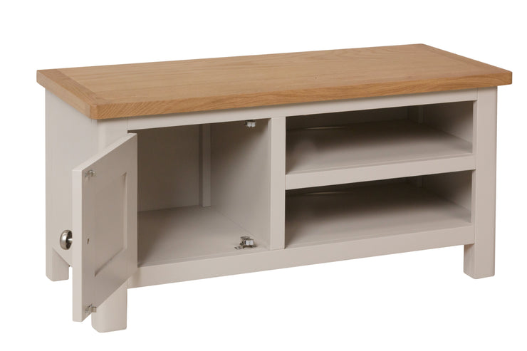 Stratford Truffle Dove Grey Painted TV Unit