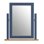 Stratford Blue Painted Trinket Mirror